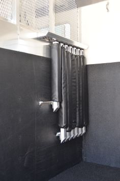 How to store your 'Quiet Ride' Removable/Interchangeable Breast and Butt Bars in a 4-Star Head to Head Trailer 800.848.3095