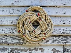 How to Tie a Nautical Rope Wreath