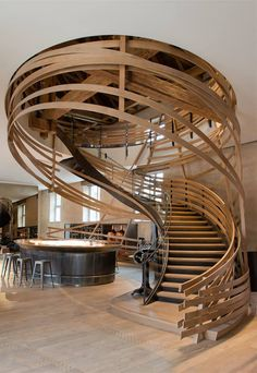 Les Haras, a restaurant in Strasbourg (France) designed by Jouin Manku is one of the overall winners of the 2014 Restaurant & Bar Design Awards.
