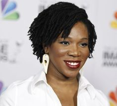 India Arie short hairstyle for natural hair