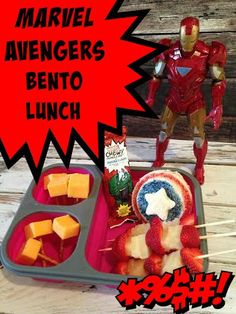 MARVEL Avengers Bento Lunch #MARVELSnackBar #CollectiveBias #ad