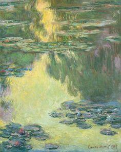 Claude Monet Poster - Waterlilies