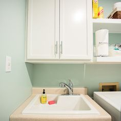 Traditional Laundry Room by Redbud Construction Services