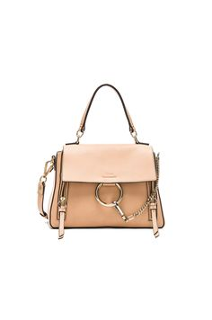 Roy Convertible Two-tone Suede And Leather Shoulder Bag - Blush Chlo y3XUK4pOo