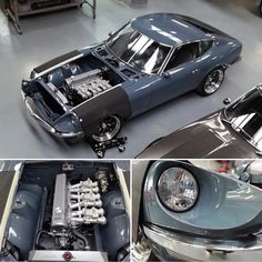 Nissan Z Cars, Nissan 350z, Jdm Cars, 240z Datsun, Datsun Roadster, Liberty Walk Cars, American Classic Cars, Car Engine, Japanese Cars
