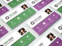 Business Card Template 006 for Photoshop  by NMDesignStudioShop