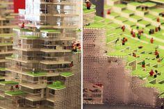 Lego model, BIG architects