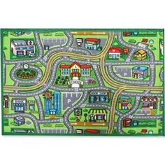 35 Best Kids Play Rugs With Roads Images