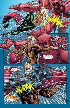 "Preview: Aquaman (2003) #24 ""Water War""   DC Comics News"
