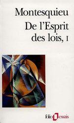 Résumé de l'Esprit des Lois de Montesquieu