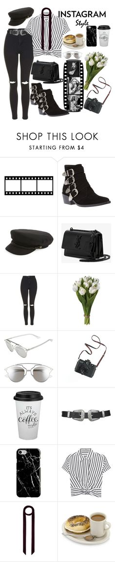 """Let me take a selfie..."" by xmoonagedaydreamx ❤ liked on Polyvore featuring Toga, Brixton, Yves Saint Laurent, Topshop, Christian Dior, Madewell, Recover, T By Alexander Wang and Monsoon"