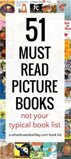 51 (Out of the Box) Picture Books You Must Read to Your Kids