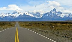 The legendary Ruta 40 through Patagonia, one of the world's great driving adventures