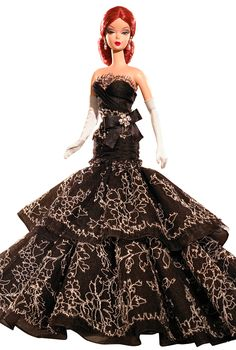 2006 Dahlia Barbie® Doll | Barbie Fashion Model Collection *SILKSTONE