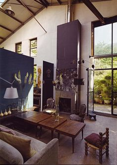 . Claire Basler's home and garden.
