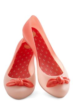 I am in love with this brand. Mel shoes are so comfy and they have a sweet candy-like scent.