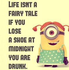 If you lose a shoe at midnight, you are drunk. Cell phones are different. It's okay to find you lost them any time.