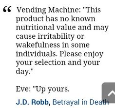 Eve Dallas, J.D. Robb, In Death Book Series