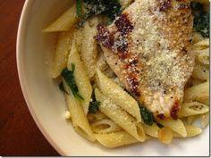 Lemon chicken pasta #dinner #recipes