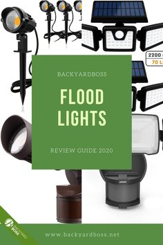 If you're looking for lights with extreme brightness, motion sensors, and 360 degree rotation, our favorite floodlights are perfect for you. We've reviewed dozens of them so you don't have to. Led Flood Lights, Diy Garden Projects, Outdoor Landscaping, Product Review, Landscape Lighting, Patio Design, Crafts, Ideas, Led Projector