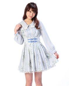 縦花ジャンスカ|渋谷109で人気のガーリーファッション リズリサ公式通販