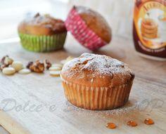 Muffin sciroppo d'acero e noci pecan