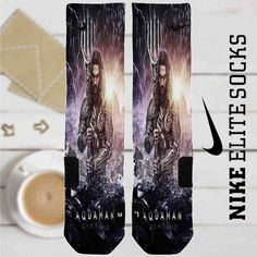Aquaman Movie Custom Nike Elite Socks