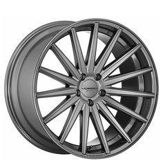 """20"""" Staggered Vossen Wheels VFS2 Gloss Graphite Rims"""