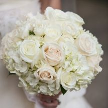 Bridal Bouquet Option 2- Hydrangea & Roses