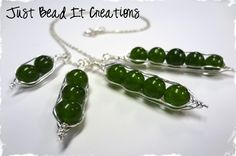 $12 Lovely Mother's Pea Pod Necklaces - Makes a Great Gift! at VeryJane.com
