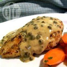 Chicken breasts in caper cream sauce @ allrecipes.co.uk