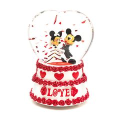 Boule à neige mariage de Mickey et Minnie Mouse