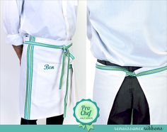 Pro Chef Half Apron with Renaissance Ribbons | Sew4Home