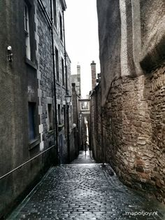 Royal Mile close, Edinburgh (7 must do's) - Map of Joy