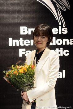 9 April 2013. Koo Hye Sun at Brussels International Fantastic Film Festival. Photo credit as tagged.