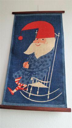 Julbonad Scandi Art, Christian Christmas, Winter Solstice, Yule, Pagan, Santa, Xmas, Kids Rugs, Design