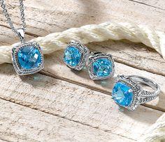 Colore   SG   Blue Jewelry   Gift   Love   Fashion