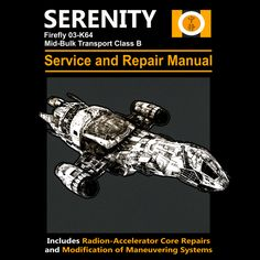 Firefly service and repair manual - NeatoShop