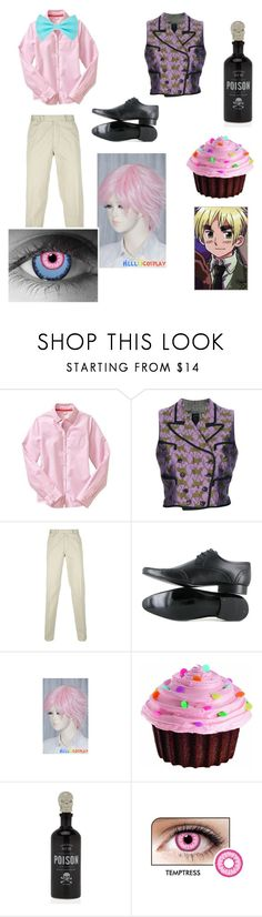 """""""2P England hetalia"""" by creepypastalover ❤ liked on Polyvore featuring Gap, Jean-Paul Gaultier, Polo Ralph Lauren, Vegetarian Shoes and Wilton"""