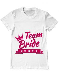 Tricou Tricou Team Bride Team Bride, Mens Tops, T Shirt, Design, Fashion, Supreme T Shirt, Moda, Tee Shirt, Fashion Styles