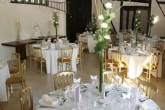 The Carriage Barn, all ready for the guests!
