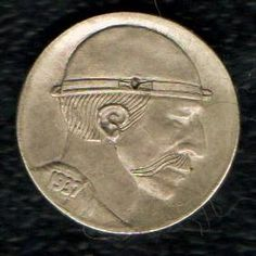 1937 Hobo Nickel, Modern Artist Initialed R.C. on Reverse. For the person who thinks they have one of everything!