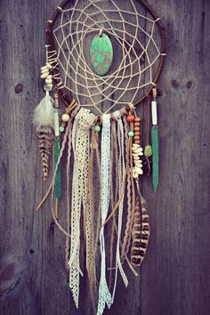 Dreamcatcher Ethnic Wood Tribal Native Hippie Gipsy Bohemian