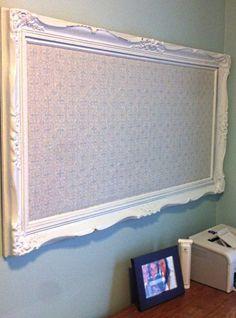 28 Insanely Creative DIY Cork Board Projects For Your Office Diy Cork Board, Home Projects, Office Decor, Framed Cork Board, Diy Bulletin Board, Picture Frames, Cork Board Projects, Home Decor, Cork Diy