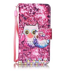 Apple iPod Touch 5th / 6th Generation Case + Free Tempered Glass Screen Protector, BoxTii� Elegant Leather Wallet Case with Back Cover for Apple iPod Touch 5th / 6th Generation, Colorful Pattern Design Flip Wallet with Wrist Strap Card-Slot Kickstand and Magnetic Clip, Book Style Design Protective F