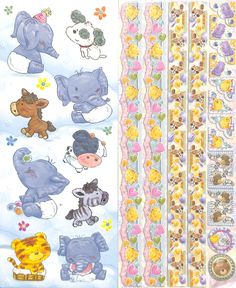 Joy!Crafts Sparkling Embossed stickers Baby 6013/0024 - Embossed stickers