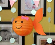 Pink goldfish party: Gianah is 2! | Chickabug