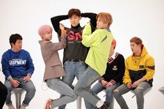 """(BLOG) Weekly Idol x MONSTA X - Shownu and Wonho Source: MBC Every1 """