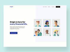 Corporate Website Design, Website Design Layout, Web Layout, Business Web Design, Healthcare Website, Medical Websites, Website Design Inspiration, Interactive Design, Page Design