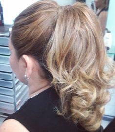 peinado, ponytail, updo, hairstyle